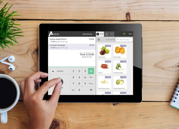 Aurora Solutions Aurora POS Point of sale